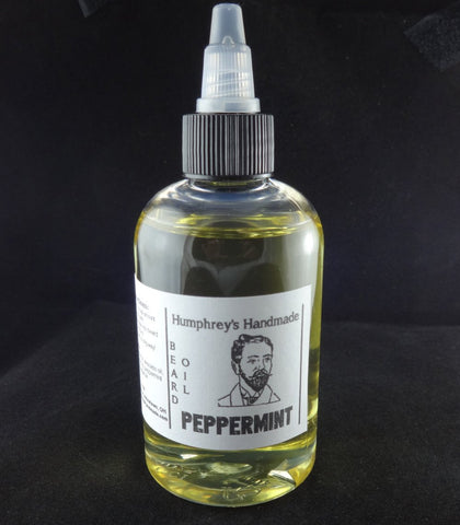 PEPPERMINT Beard Oil | Essential Oil | 4 oz - Humphrey's Handmade