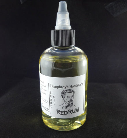 REDRUM Beard Oil | Bay Rum | 4 oz - Humphrey's Handmade