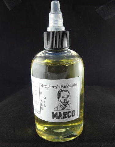 MARCO Beard Oil | 4 oz | Polo Sport Type - Humphrey's Handmade
