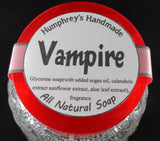 VAMPIRE Soap | Blood Orange Essential Oil | Glycerin Shampoo Bar | - Humphrey's Handmade