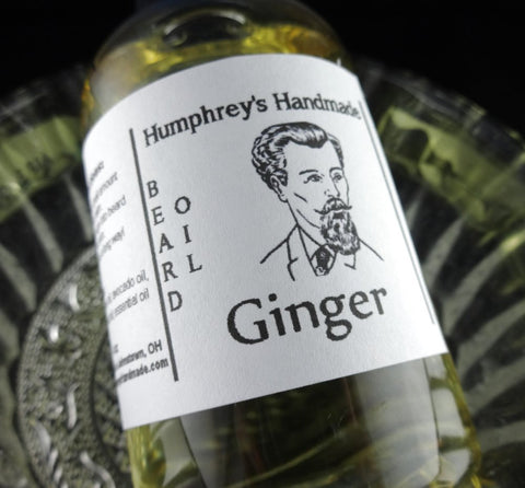 GINGER Beard Oil | 4 oz | Essential Oil - Humphrey's Handmade