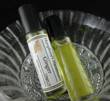 GINGER Cologne Oil | Unisex Roll On | Essential Oil | Golden Jojoba - Humphrey's Handmade