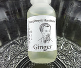 GINGER Beard Oil | .5 oz Sample | Ginger Essential Oil - Humphrey's Handmade