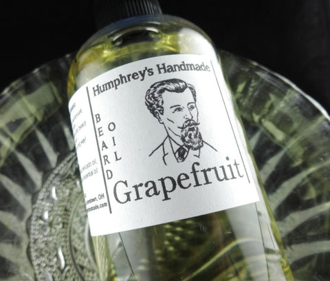 GRAPEFRUIT Beard Oil | 4 oz | Essential Oil - Humphrey's Handmade