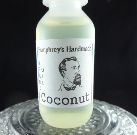 COCONUT Beard Oil | Small .5 oz | Tropical Scent - Humphrey's Handmade