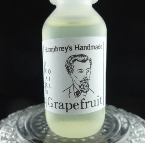 GRAPEFRUIT Beard Oil | .5 oz Sample Size | All Natural | Essential Oil - Humphrey's Handmade