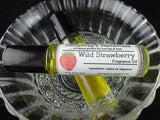 WILD STRAWBERRY Perfume | Roll-On Fragrance | Sweet Strawberries | Jojoba Oil - Humphrey's Handmade
