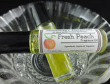 FRESH PEACH Perfume | Roll On Fragrance | Golden Jojoba Oil - Humphrey's Handmade