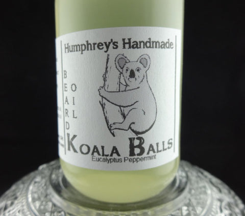 KOALA BALLS Beard Oil | Eucalyptus Peppermint | Essential Oil | 2 oz - Humphrey's Handmade