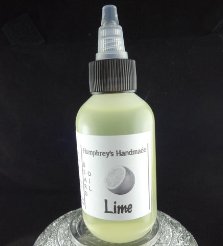 LIME Beard Oil | Essential Oil | 2 oz - Humphrey's Handmade
