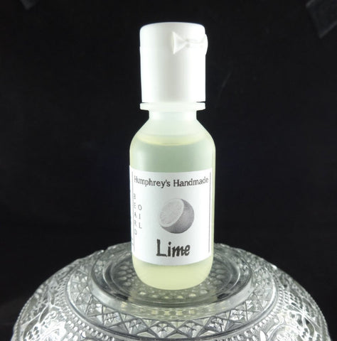LIME Beard Oil | .5 oz Sample Size | Essential Oil | Citrus - Humphrey's Handmade