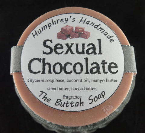 SEXUAL CHOCOLATE Butter Soap | Fudge | Cocoa Butter - Humphrey's Handmade