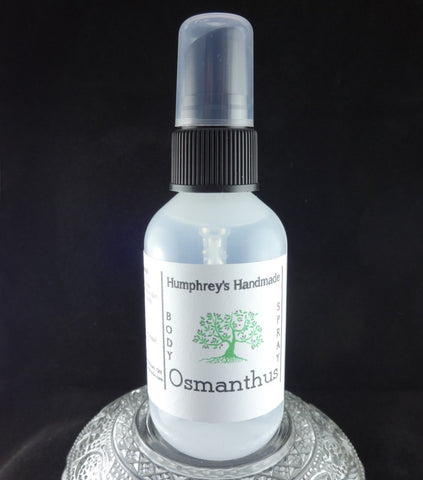 OSMANTHUS Body Spray | 2 oz | Peach Tea | Japanese | Sweet Olive Flower - Humphrey's Handmade