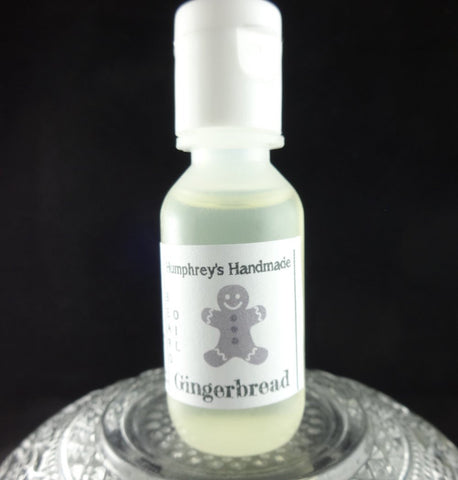 GINGERBREAD Beard Oil | .5 oz Sample Size | Nutmeg | Clove | Ginger - Humphrey's Handmade