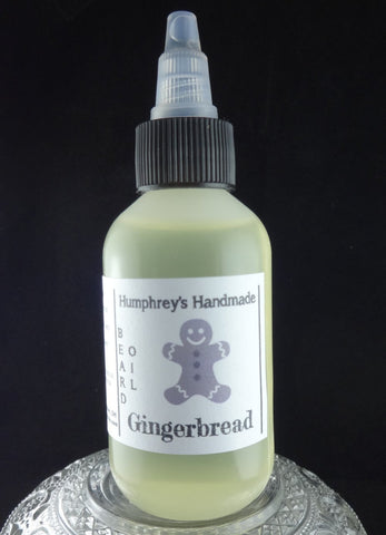 GINGERBREAD Beard Oil | Nutmeg | Clove | Cinnamon | 2 oz - Humphrey's Handmade