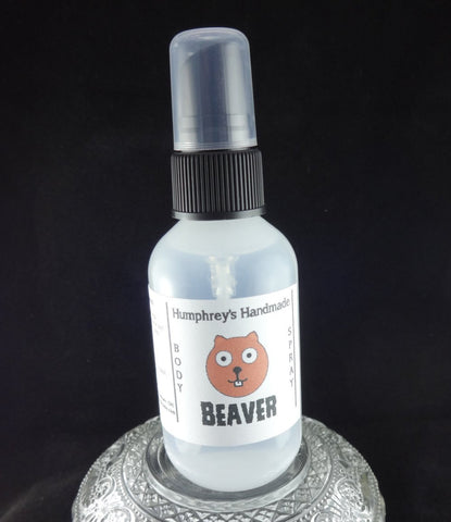 BEAVER Body Spray | Unisex | Pine | Woods | Pineapple - Humphrey's Handmade