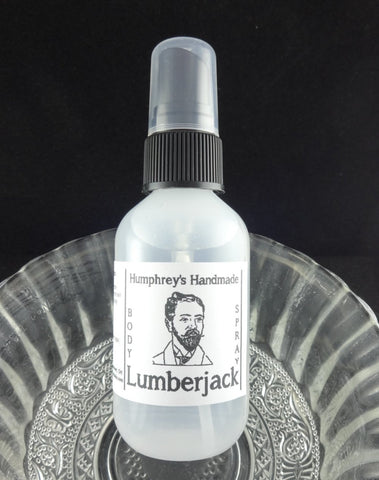 LUMBERJACK Men's Body Spray | 2 oz | Cedarwood | Sandalwood - Humphrey's Handmade