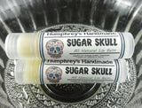 SUGAR SKULL Lip Balm | Margarita Flavor | Day of the Dead | Halloween - Humphrey's Handmade