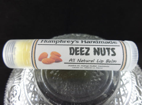 DEEZ NUTS Lip Balm | Honey Almond Flavor - Humphrey's Handmade