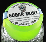 SUGAR SKULL Soap | Glycerin Brown Sugar Scented Soap | Day of the Dead | Halloween Soap - Humphrey's Handmade