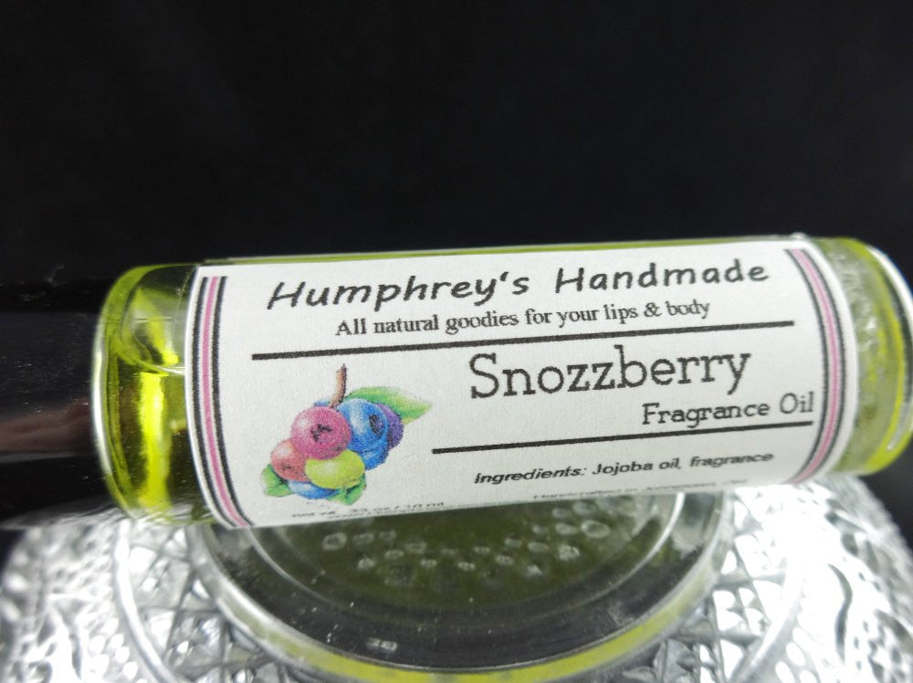 Snozzberry Perfume Fragrance Roll On Berry Perfume Mixed Berries
