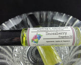 SNOZZBERRY Perfume Fragrance | Roll-On Berry Perfume | Mixed Berries | Golden Jojoba Oil - Humphrey's Handmade