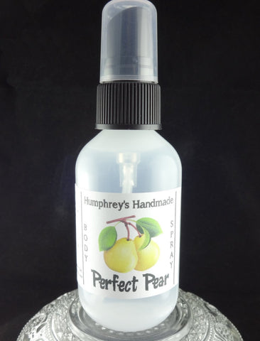 PERFECT PEAR Body Spray | All Natural Perfume | 2 oz - Humphrey's Handmade
