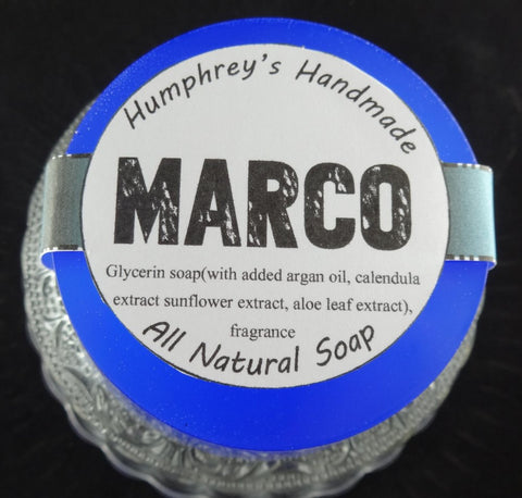 MARCO Soap | Beard Wash | Men's Shave & Shampoo Soap | Polo Sport Type - Humphrey's Handmade