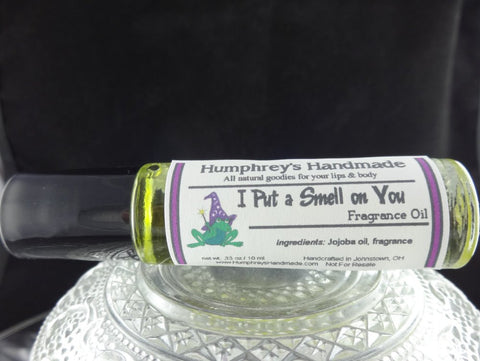 I PUT A SMELL ON YOU Roll On Perfume | Hearts Desire Type | Golden Jojoba Oil - Humphrey's Handmade