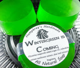 WINTERGREEN IS COMING Soap | Unisex |  Essential Oil | Sweet Mint | Beard Wash | Shave Puck | Shampoo Bar - Humphrey's Handmade
