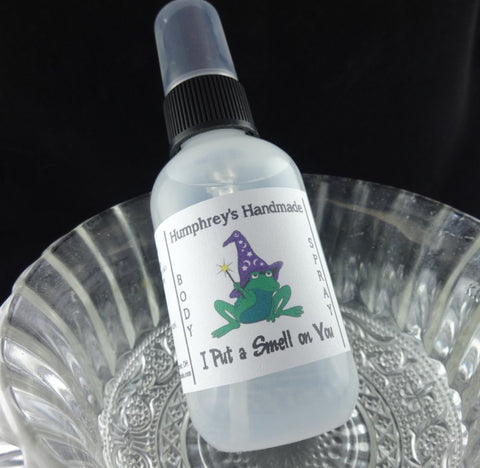 I PUT A SMELL ON YOU Body Spray | Hearts Desire Type | 2 oz - Humphrey's Handmade