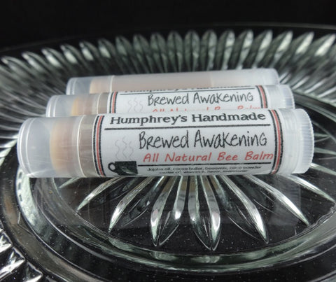 BREWED AWAKENING Lip Balm | Coffee Flavor - Humphrey's Handmade
