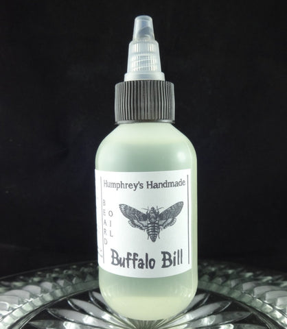 BUFFALO BILL Beard Oil | Leather Scent | 2 oz - Humphrey's Handmade