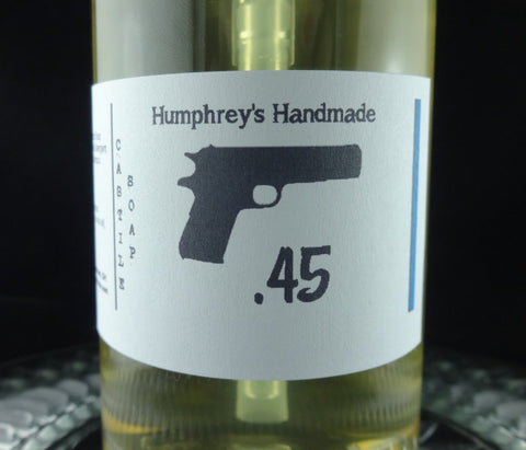Men's .45 Beard Wash & Body Wash | 8 oz | Barbershop Scent | Castile Soap - Humphrey's Handmade