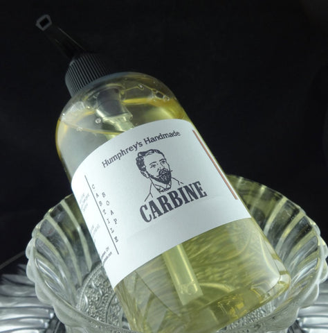 CARBINE Men's Beard & Body Wash | 8 oz | Bore Cleaner | Gun Oil | Castile Soap - Humphrey's Handmade