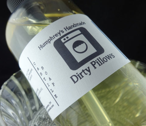 DIRTY PILLOWS Body Wash | Fresh Laundry Scent | Fabric Softener | Unisex | Beard Wash - Humphrey's Handmade