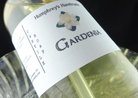 GARDENIA Body Wash | 8 oz | Women's Gardenia Scented Castile Shower Gel - Humphrey's Handmade