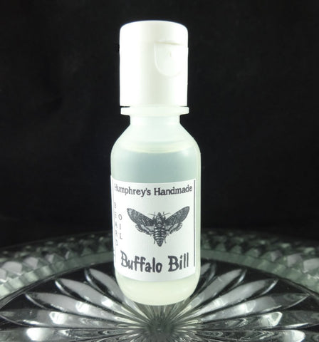 BUFFALO BILL Beard Oil | Sample Size .5 oz | Leather Scent - Humphrey's Handmade