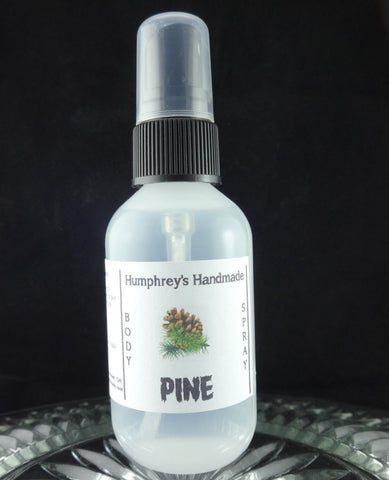 PINE Body Spray | Unisex Scent | All Natural | 2 oz - Humphrey's Handmade