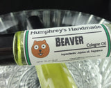 BEAVER Cologne Oil | Pine Scent | Unisex Roll On Fragrance | Jojoba Oil - Humphrey's Handmade