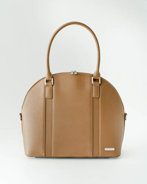 Rotunda Brown Diaper Bag