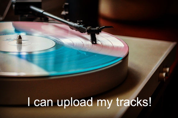 Personalized custom vinyl record mix playlist mixtape mp3