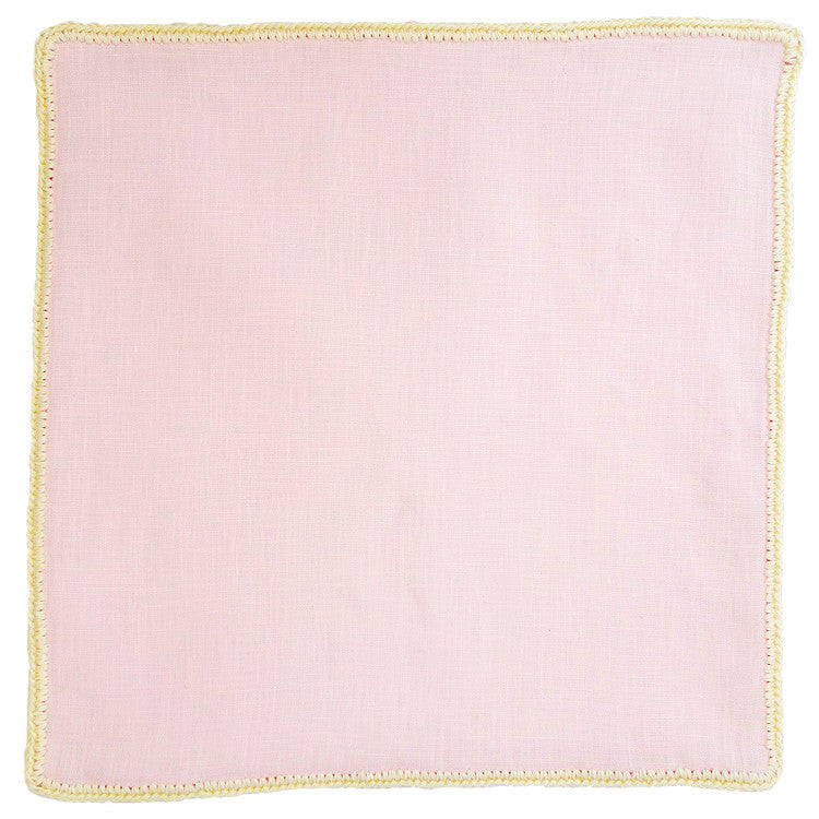 Pale Rosa with Off White Signature Border