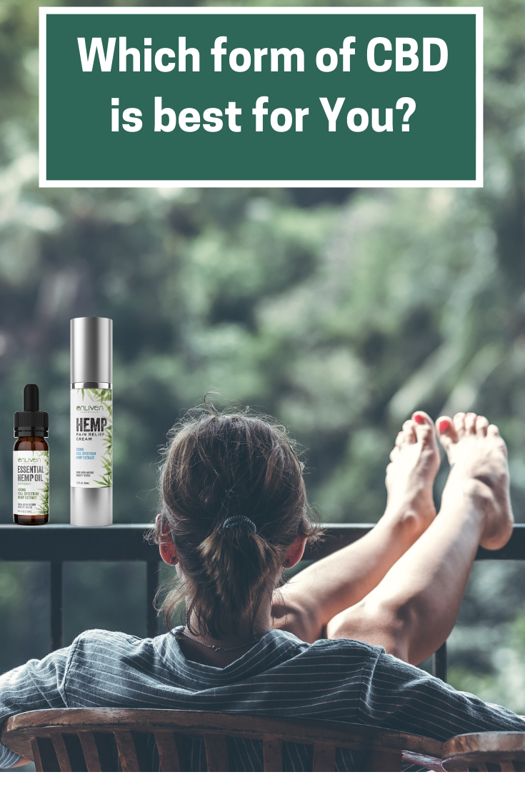 Which form of CBD is best for you? Benefits of CBD oil. CBD pain cream New York