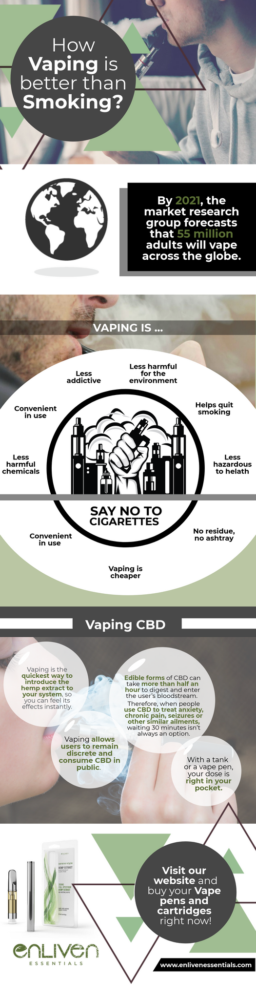 vaping is better than smoking