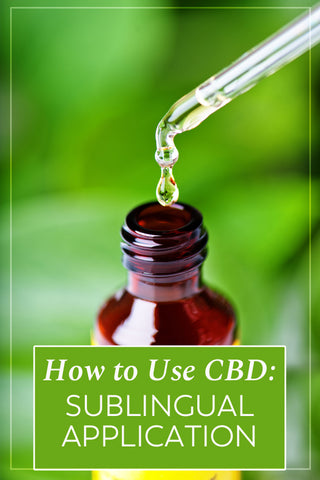How to use CBD.