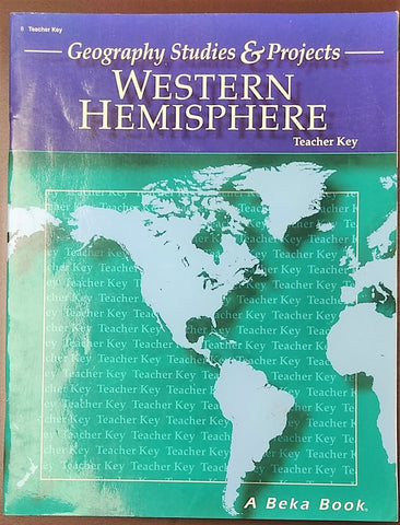 Products tagged geography agape books gifts geography studies projects western hemisphere teacher key paperback 2005 gumiabroncs Gallery