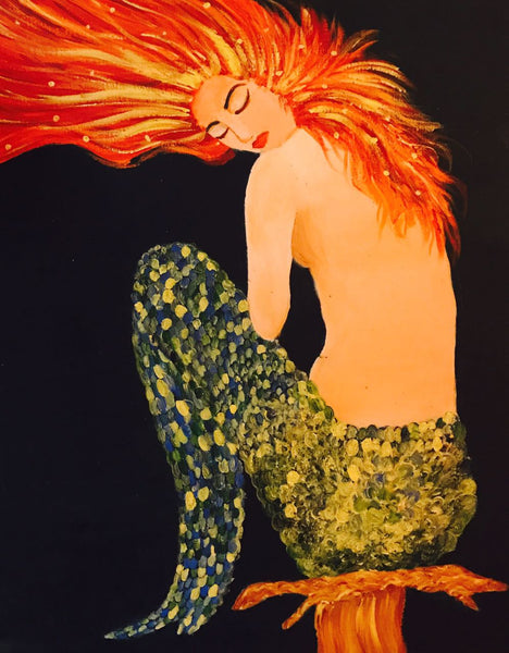 The Flaming Mermaid