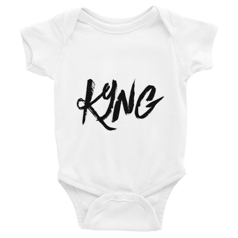 Infant short sleeve KYNG one-piece