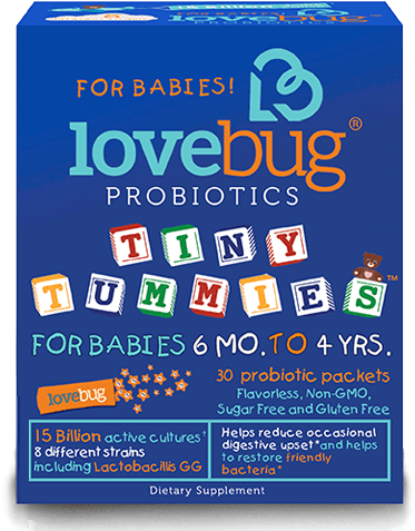 LoveBug Probiotics Tiny Tummies